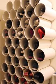 Organizador de sapatos_tubos PVC