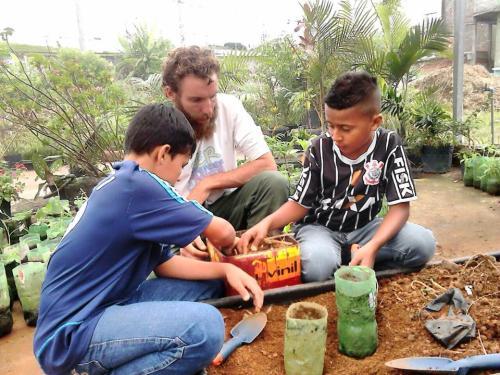 Diego Malagode, educador do Quebrada Sustentável