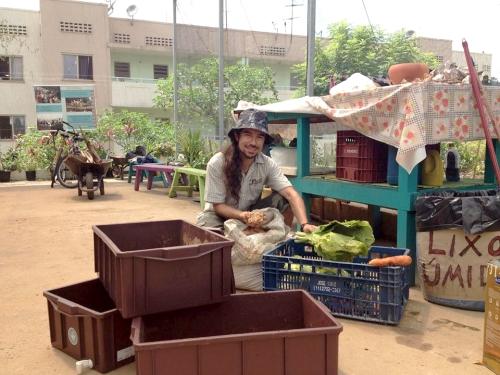 Grande Vini, na função da compostagem dos orgânicos